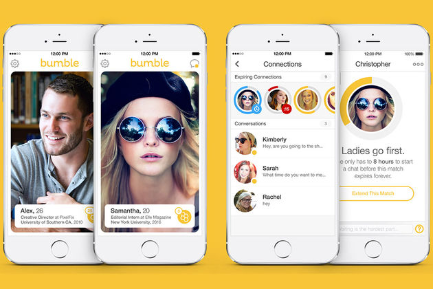 Dating app where the girl has to interact first