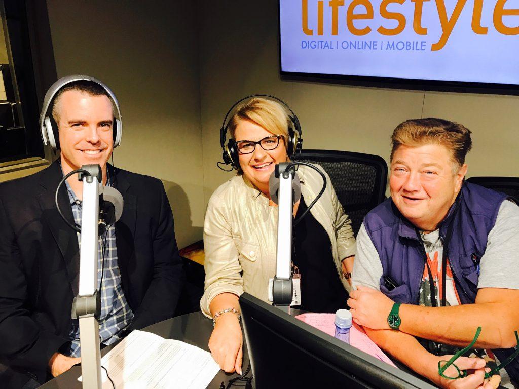 Clinton Power on Talking Lifestyle Radio